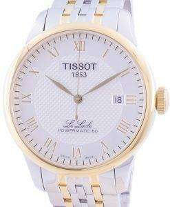 Tissot Le Locle Powermatic 80 Automatic T006.407.22.033.01 T0064072203301 Men's Watch