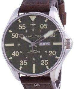 Hamilton Khaki Pilot Schott NYC Limited Edition Automatic H64735561 200M Divers Mens Watch