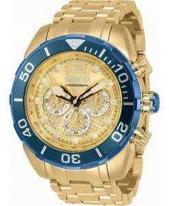 Invicta Pro Diver Chronograph Quartz 33831 100M Mens Watch