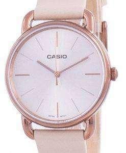Casio Rose Gold Tone Dial Quartz LTP-E412RL-5A LTPE412RL-5 Womens Watch