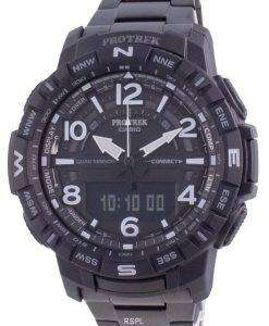 Casio Protrek Mobile Link World Time Quartz PRT-B50YT-1 PRTB50YT-1 100M Mens Watch