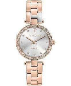 Trussardi T-Sparkling Milano Diamond Accents Quartz R2453139504 Womens Watch