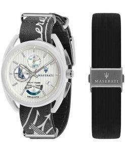 Maserati Trimarano Yacht Timer Chronograph Quartz R8851132002 100M Mens Watch