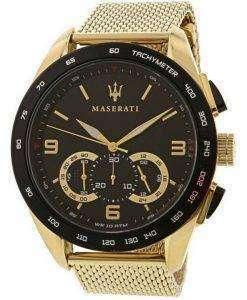 Maserati Traguardo Chronograph Quartz R8873612010 100M Mens Watch