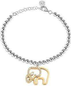 Morellato Enjoy Stainless Steel Crystals SAJE23 Womens Bracelet