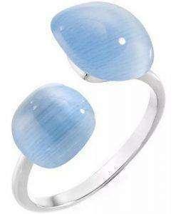 Morellato Gemma Cat Eye Crystal SAKK16012 Womens Ring