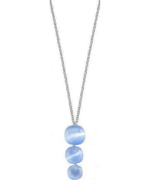 Morellato Gemma Cat Eye Stone Pendant SAKK20 Womens Necklace