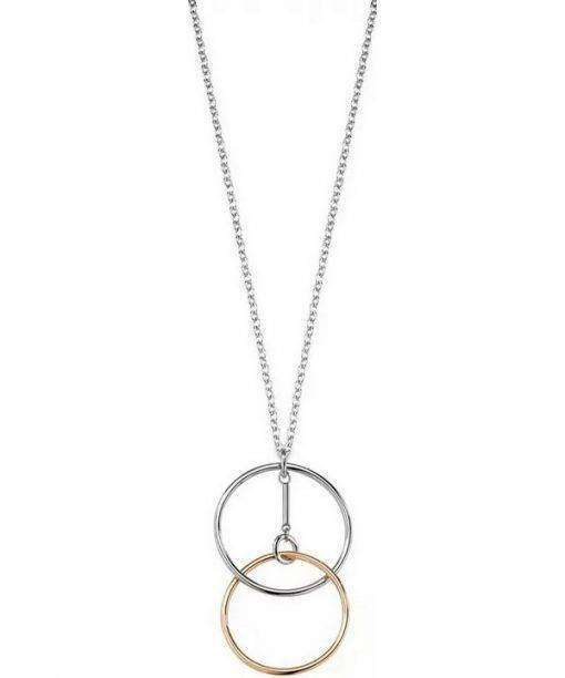 Morellato Cerchi Stainless Steel PVD Rose Gold Tone SAKM12 Womens Necklace
