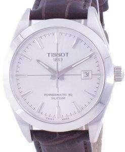 Tissot Gentleman Powermatic 80 Silicium Automatic T127.407.16.031.01 T1274071603101 100M Mens Watch