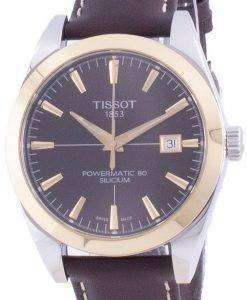 Tissot Gentleman Powermatic 80 Silicium Automatic T927.407.46.291.01 T9274074629101 Mens Watch