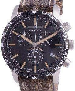 Zeppelin Night Cruise Chronograph Quartz 7296-2 72962 100M Mens Watch