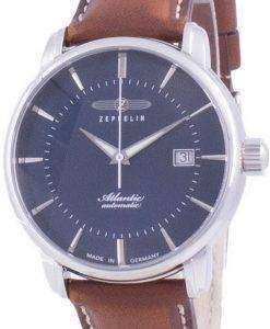 Zeppelin Atlantic Blue Dial Automatic 8452-3 84523 Mens Watch