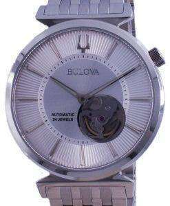 Bulova Classic Regatta Open Heart Dial Automatic 96A235 Mens Watch