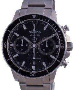 Bulova Marine Star Quartz Divers 96B272 200M Mens Watch