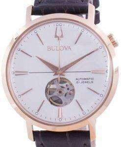 Bulova Aerojet Silver Dial Automatic 97A136 Mens Watch
