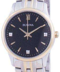 Bulova Diamond Accents Quartz 98P196 Womens Watch