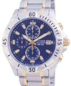 Citizen Quartz Chronograph AN3394-59L 100M Mens Watch