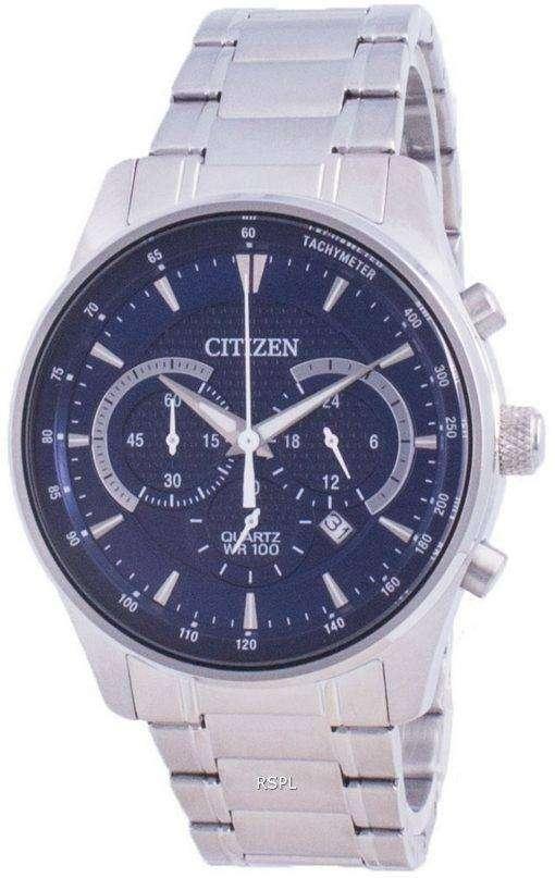 Citizen Quartz Chronograph AN8190-51L 100M Mens Watch