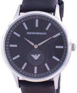 Emporio Armani Renato Black Dial Quartz AR80039 Mens Watch