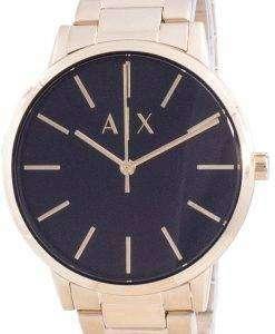 Armani Exchange Black Dial Quartz AX7119 Mens Watch
