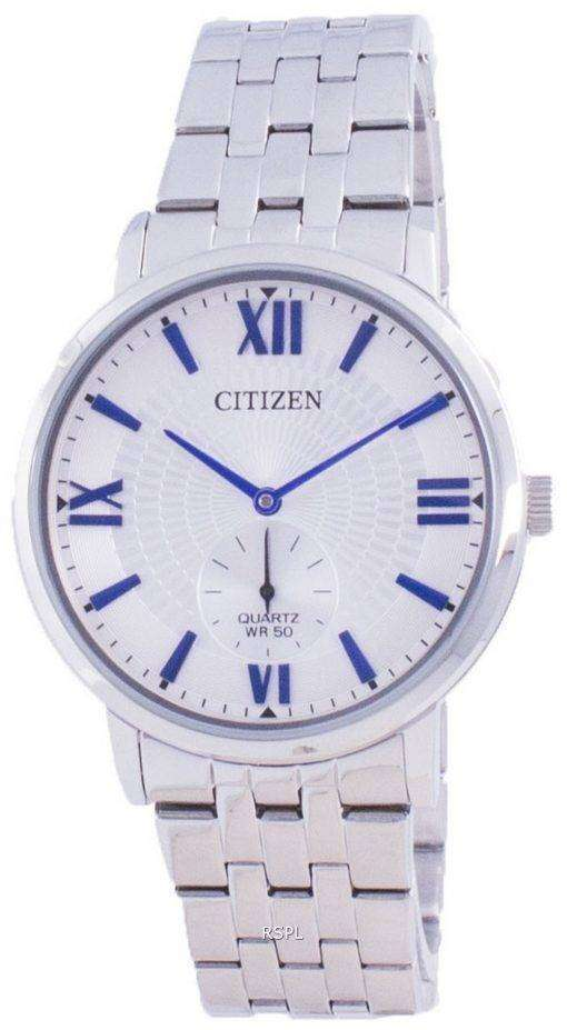 Citizen Quartz Silver Dial BE9170-72A Mens Watch