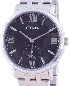 Citizen Black Dial Stainless Steel Quartz BE9170-72E Mens Watch