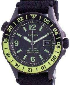Fossil FB-GMT Curator Titanium Limited Edition Quartz LE1107 200M Mens Watch