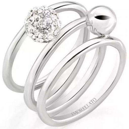 Morellato Luminosa Stainless Steel SAET09012 Womens Ring