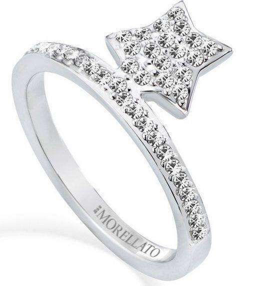 Morellato Mini Stainless Steel Star Shaped SAGG09014 Womens Ring