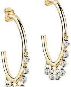 Morellato Cerchi Gold Tone Stainless Steel SAKM55 Womens Earring