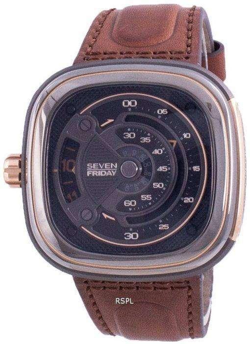 Sevenfriday M-Series Automatic M2B01 SF-M2B-01 Mens Watch