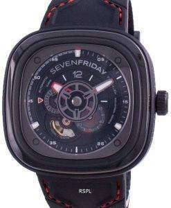 Sevenfriday P-Series RACER III Automatic P3C02 SF-P3C-02 100M Mens Watch