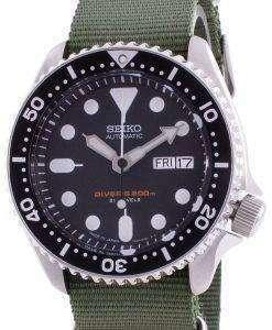 Seiko Automatic Divers SKX007J1-var-NATO9 200M Japan Made Mens Watch