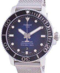 Tissot Seastar 1000 Powermatic 80 Automatic Divers T120.407.11.041.02 T1204071104102 300M Mens Watch
