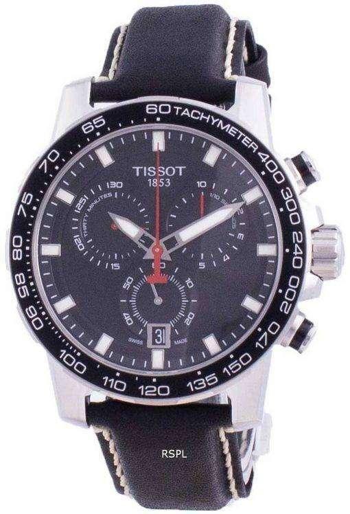 Tissot Supersport Chrono Quartz T125.617.16.051.00 T1256171605100 100M Mens Watch