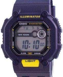 Casio Youth Illuminator Digital W-737H-2A W737H-2A 100M Mens Watch