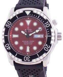 Ratio FreeDiver Helium-Safe 1000M Sapphire Automatic 1068HA90-34VA-RED Men's Watch
