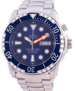 Ratio FreeDiver Helium-Safe 1000M Sapphire Automatic 1068HA96-34VA-BLU Men's Watch