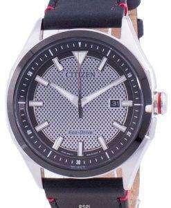 Citizen WDR Eco-Drive Black Dial AW1148-09E 100M Mens Watch