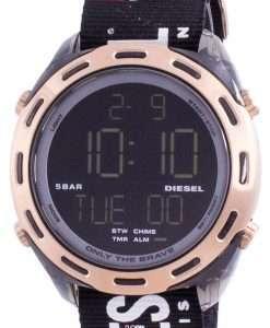 Diesel Crusher Digital Black Nylon Quartz DZ1940 Men's Watch