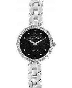 Trussardi T-Chain Milano Diamond Accents Quartz R2453137502 Womens Watch