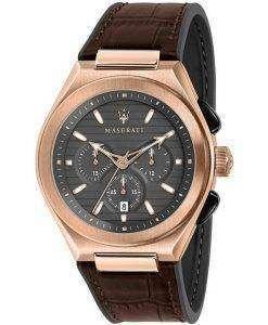 Maserati Triconic Chronograph Quartz R8871639003 100M Mens Watch