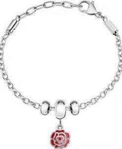 Morellato Drops Stainless Steel Chain SCZ965 Womens Bracelet