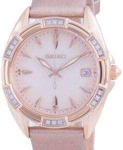 Seiko Diamond Accents Quartz SKK726 SKK726P1 SKK726P 100M Womens Watch