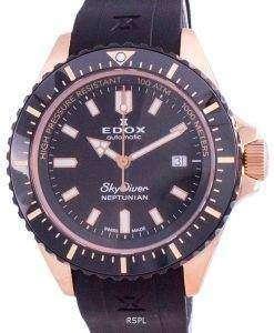 Edox Skydiver Neptunian Automatic Diver's 8012037RNNCANIR 80120 37RNNCA NIR 1000M Men's Watch