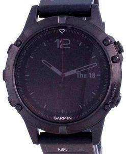 Garmin Forerunner Fenix 5 Outdoor Fitness GPS Black Sapphire With Black Band 010-01688-11 Multisport Watch