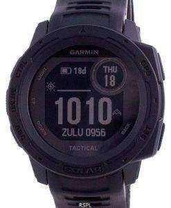 Garmin Instinct Solar Tactical Edition Black Silicone Band 010-02293-03 Multisport Watch