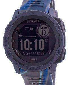 Garmin Instinct Solar Surf Edition Fitness GPS Silicone Band 010-02293-07 Multisport Watch