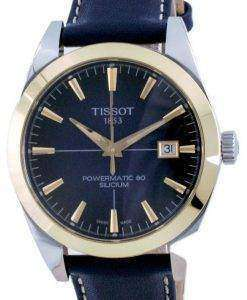 Tissot Gentleman Powermatic 80 Silicium Automatic 18 K Gold T927.407.46.041.01 T9274074604101 Men's Watch