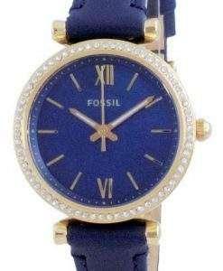 Fossil Carlie Mini Diomand Accents Quartz ES5017 Women's Watch